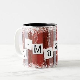 Sulk Christmas hopped and festively Two-Tone Coffee Mug
