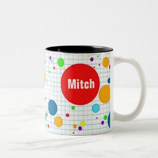 Sulk - computer computerspel agario-stijl - give Two-Tone coffee mug