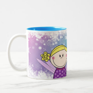 Sulk - sulk princesses with your own name - Heidy Two-Tone Coffee Mug