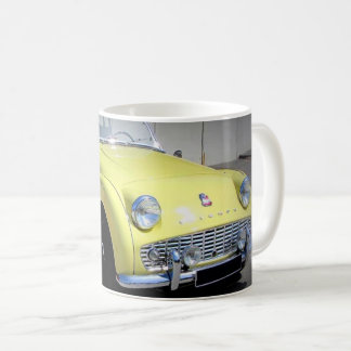 Sulk yellow Triumph Coffee Mug