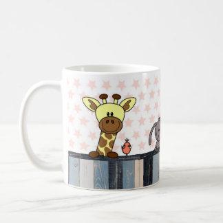 sulks - illustration animals coffee mug
