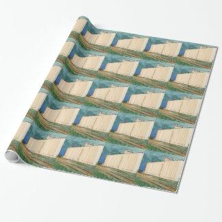 Sullivan, Inc. Grain Elevator Ulysses Kansas Wrapping Paper