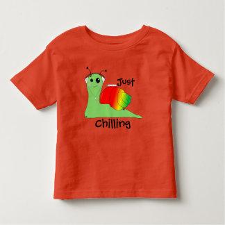 Sullivan la Snail loves music: Reggae Toddler T-shirt
