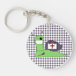 Sullivan the Tree Doctor Double-Sided Round Acrylic Keychain