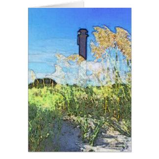 Sullivan's Island Lighthouse Card