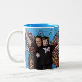 Sully & Karen butterfly mug