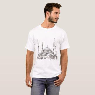 Sultan Ahmet Mosque White T-Shirt for Men
