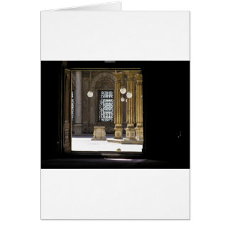 Sultan Ali mosque in Cairo Card