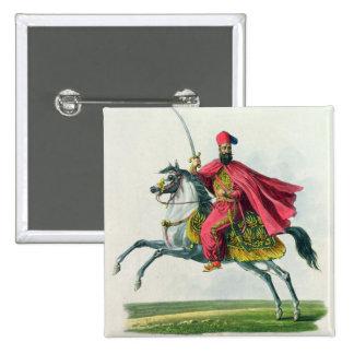Sultan Mahmud II  1829 2 Inch Square Button