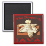 Sultan of Dropping Coffee Refrigerator Magnets