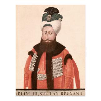 Sultan Selim III  18th-19th century Postcard