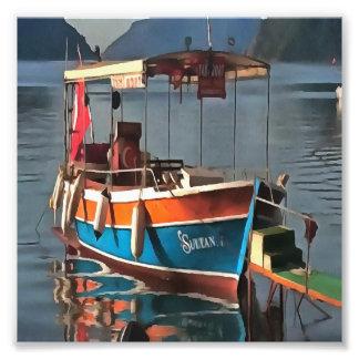 Sultan Taxi Boat Marmaris Art Photo