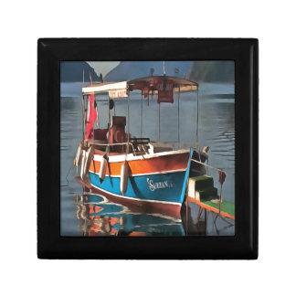 Sultan Taxi Boat Marmaris Trinket Box