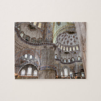 Sultanahmet Mosque in Istanbul Turkey Jigsaw Puzzle
