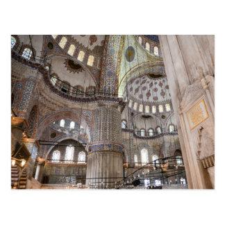 Sultanahmet Mosque in Istanbul Turkey Postcard