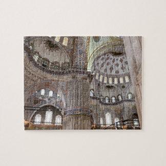 Sultanahmet Mosque in Istanbul Turkey Puzzles