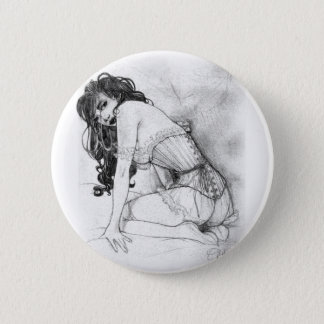 Sultry Corset 2 Inch Round Button