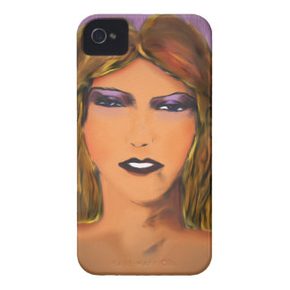 Sultry Woman Sketch Blackberry Bold Cover