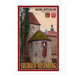 Sulzbach-Rosenberg - City Wall Postcard