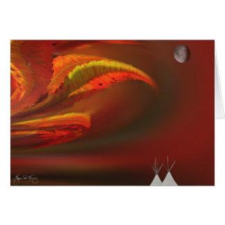 Sumac Moon Card