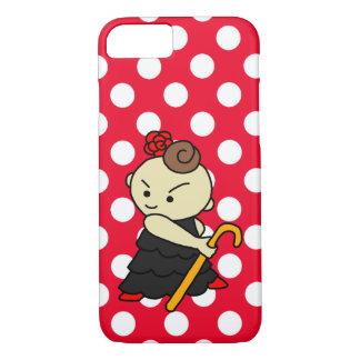 sumahokesu (hard) bus child black iPhone 8/7 case