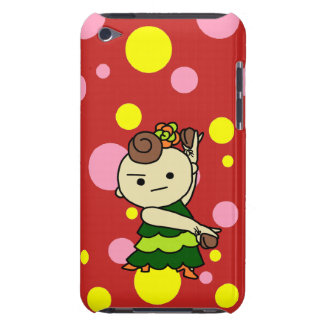 sumahokesu (hard) Paris child green Barely There iPod Cover