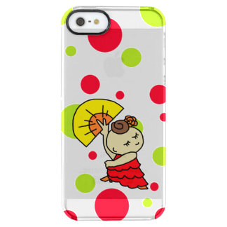 sumahokesu (transparency) abani child red clear iPhone SE/5/5s case