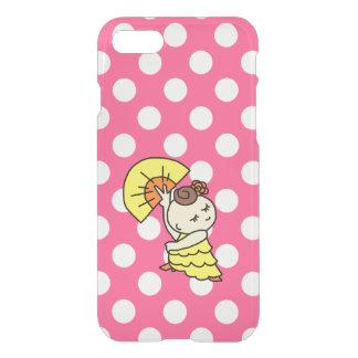 sumahokesu (transparency) abani child yellow iPhone 8/7 case