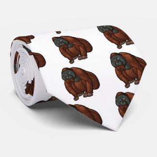 Sumatran Orangutan Tie