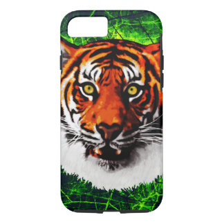 Sumatran Tiger Art Realistic Digital Painting iPhone 7 Case