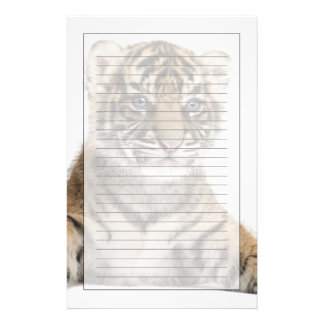 Sumatran Tiger cub Stationery