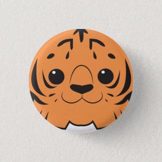 Sumatran Tiger Face Button