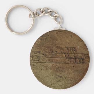 """Sumerian Cuneiform Writing"" Keychain Gift"