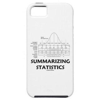Summarizing Statistics (Bell Curve Distribution) iPhone 5 Covers