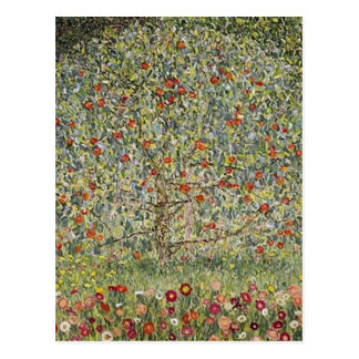 Summary Apfelbaum I , 1912, by Gustav Klimt center Postcard