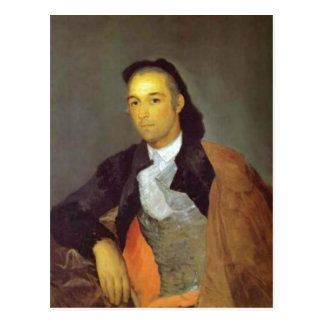 Summary Author: Francisco de Goya expired implemen Postcard