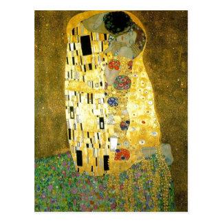 Summary Description Gustav Klimt's painting www.ya Postcard