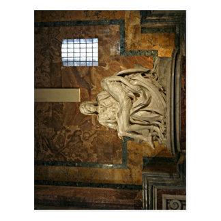 Summary Description Michelangelo's Piet? Petersdom Postcard