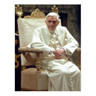 Summary Description Pope Benedictus XVI - modified Postcard