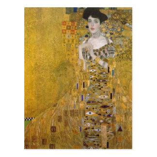 Summary Gustav Klimt Catal?: Retrat de l'Adele Blo Postcard