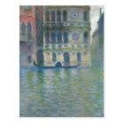 Summary Monet, Claude Palazzo Dario, Venice 1908 T Postcard
