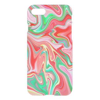 Summer Abstract2 - clear iphone case