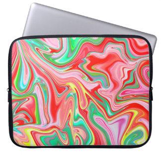 Summer Abstract2 Laptop Sleeve