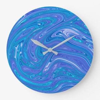 Summer Abstract - wall clock