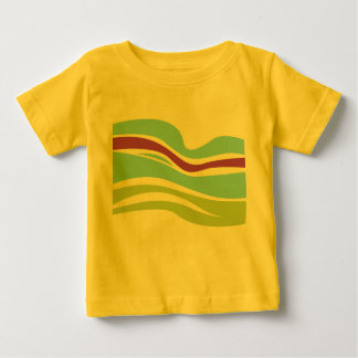 SUMMER ARTISTIC TSHIRT FOR KIDS WITH RAINBOW
