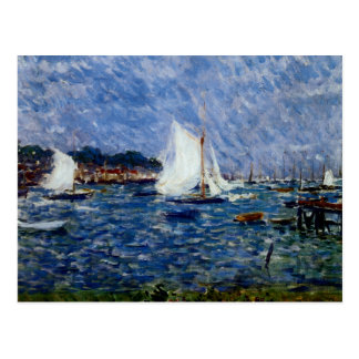 Summer at Cowes Postcard