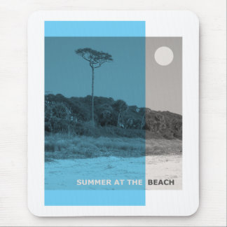 Summer At The Beach Mouse Pad