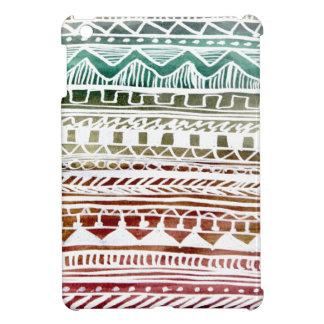 Summer Aztec Pattern iPad Mini Case