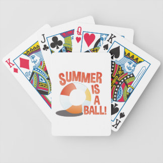 Summer Ball Poker Deck