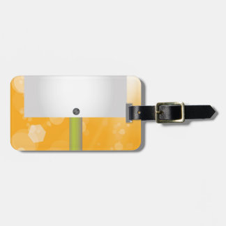 summer banner luggage tag